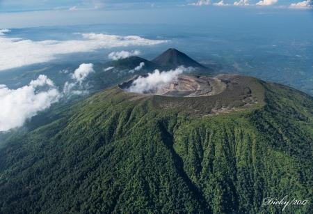 Volcan de Santa Ana, Volcan de Izalco