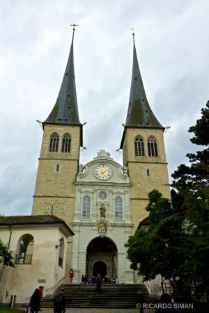 dsc 8402 Hofkirche: Iglesia de San Leodegar, Lucerna
