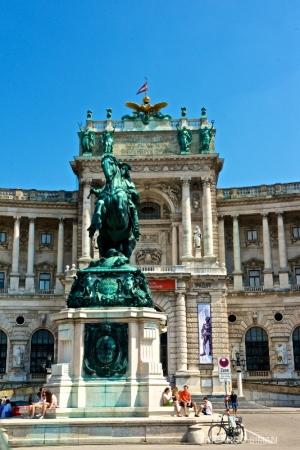 Palacio Imperial de Hofburg en Viena