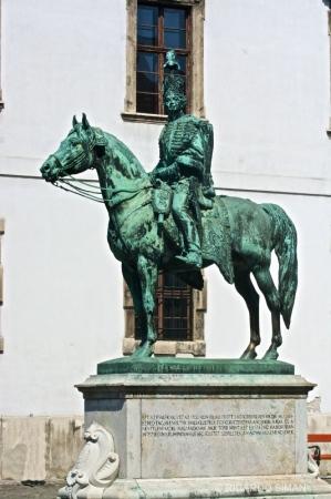 Estatua de Hussar General András Hadik