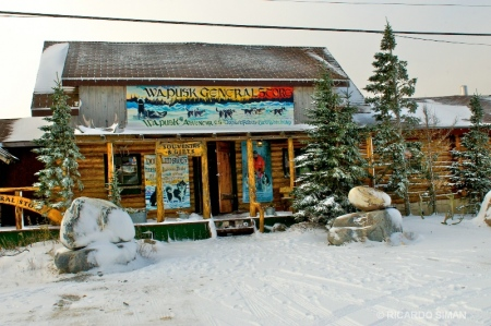 dsc 7800 Tienda de souvenir, Churchill, Manitoba, Canadá