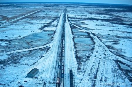 dsc 2620 Linea Ferroviaria, Churchill, Manitoba, Canadá