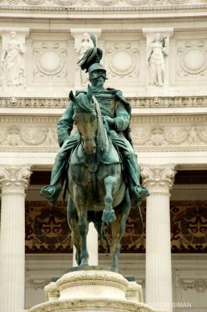 Monument Vittorio Emanuele II, Roma Italia