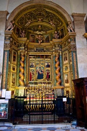 Interior de Catedral de Turin