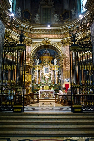 Santurario de La Virgen de Consolata, Turin
