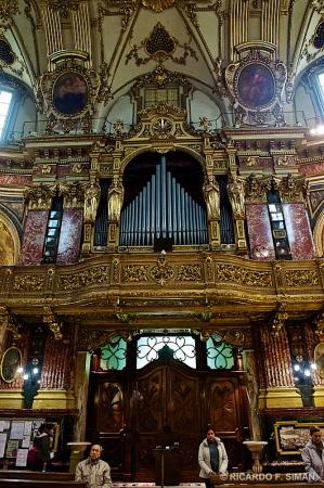 Organo Santurario de La Virgen de Consolata, Turin