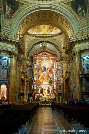 Altar de La Basilica de Maria Auxiliadora, Turin