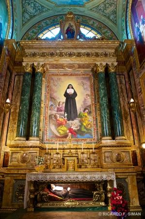 Santa Maria Mazzarello, Basilica de Maria Auxiliadora, Turin