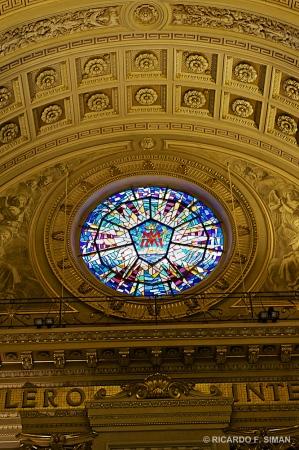 Vitral Fachada, Basilica de Maria Auxiliadora, Turin