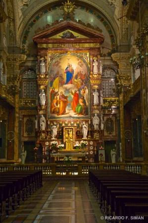 Altar , Basilica Maria Auxiliadora, Turin