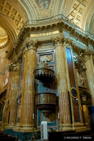 Pulpito en Basilica de Maria Auxiliadora, Turin