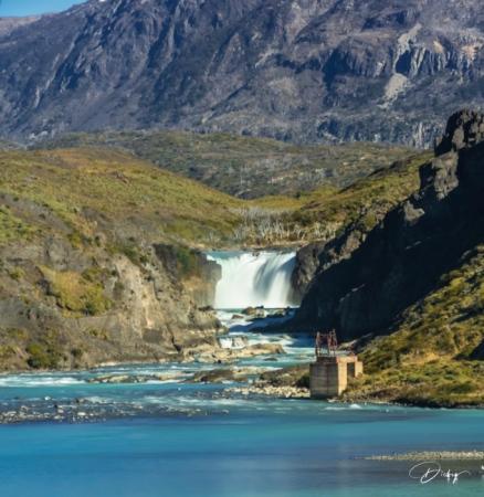 DSC_0723-2 Cascada Rio Paine, Chile, Parque Nacional Torres