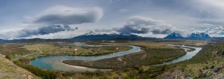 DSC_1214-Pano Chile, Panoramica Torres de Paine, Parque Naci