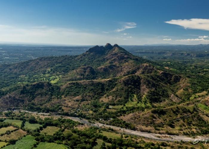 Oriente El Salvador desde el aire