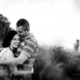 Carolina, Gerardo y Daniela (sesión premamá en Telde)