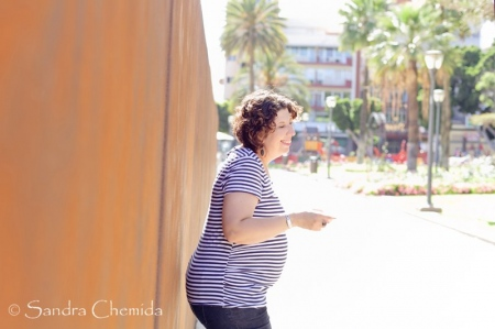 Sesión fotográfica embarazada en Las Palmas