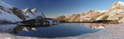 Lago del Valle invernal
