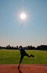 Iñigo atacando el sol