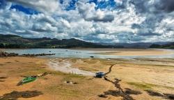 Bohome, estuario de la Ría de Villavicios, (El Puntal).