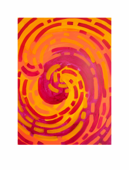 "COLECHO. Serie ""Maternaje"" 21 x 29,7cm Acrílico sobre papel. Obra única"