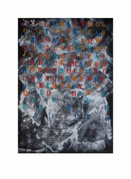 "Negocio.  Serie ""Madres en redes de trata"" 42 x 59,4 cm Acrílico sobre papel.Obra original"