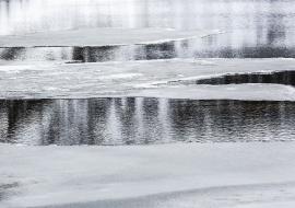 Blanco Negro Azul imágenes sobre el Ártico