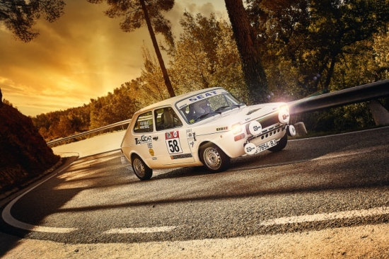 Anton Montero Seat 127 Rally Costa Daurada Legend 2019 sunset clásico hella riudecanyes duesaigues baix camp reus cambrils top gear classic cibie rallymeter