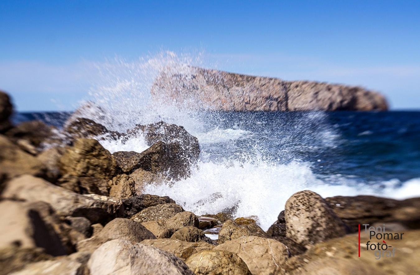Esquit de mar - A cel obert - Toni Pomar. A cel obert