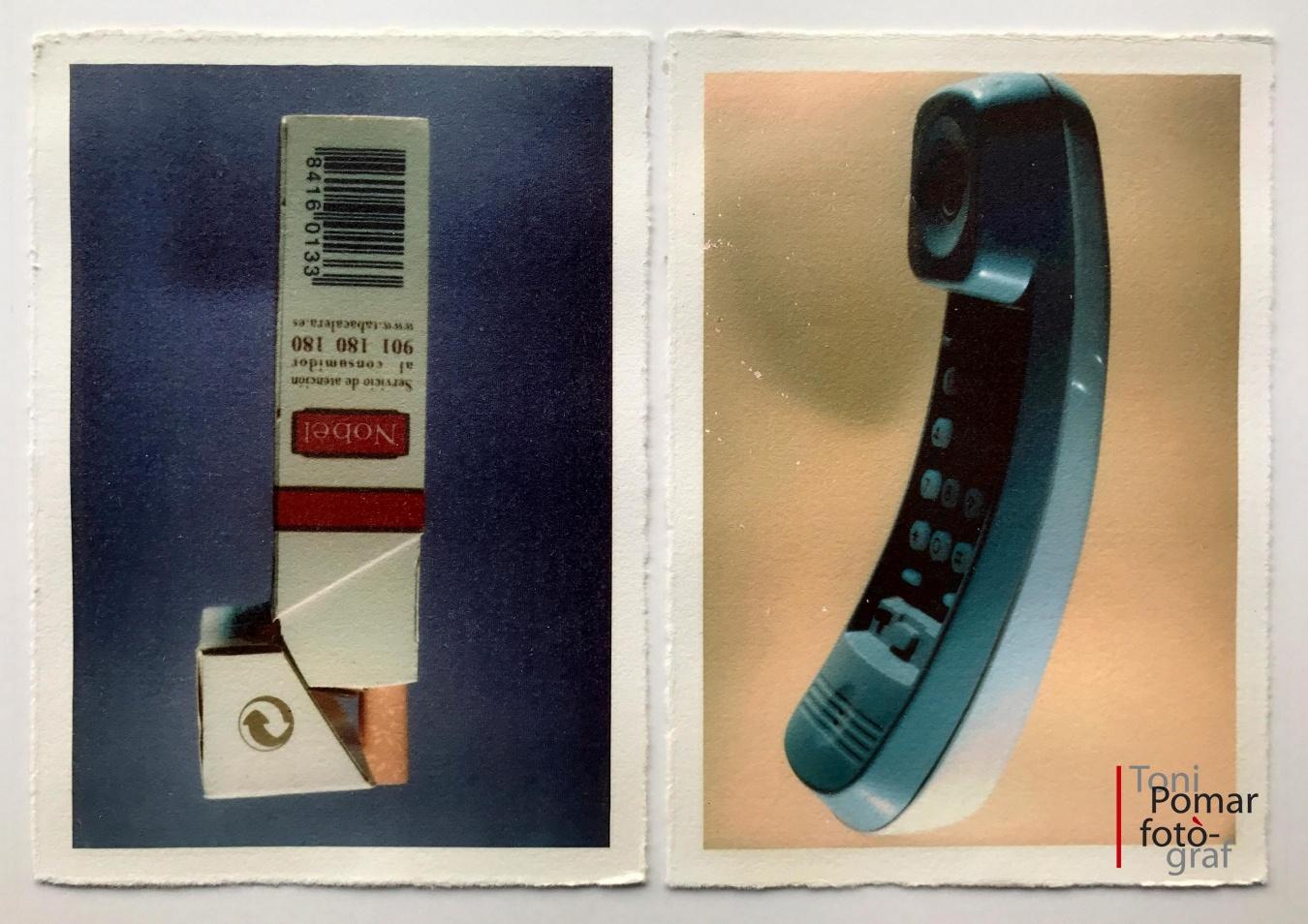 J - Paquet de tabac | j - Telèfon - Alfabet - Toni Pomar. Alfabet
