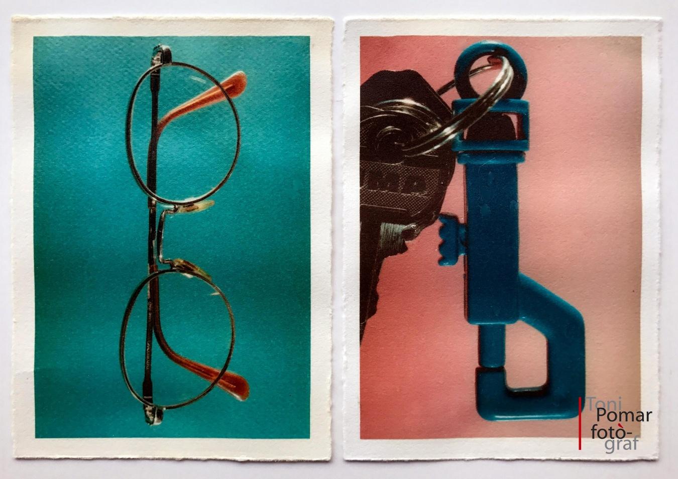 B - Les meves ulleres | b - Clauer amb claus - Alfabet - Toni Pomar. Alfabet