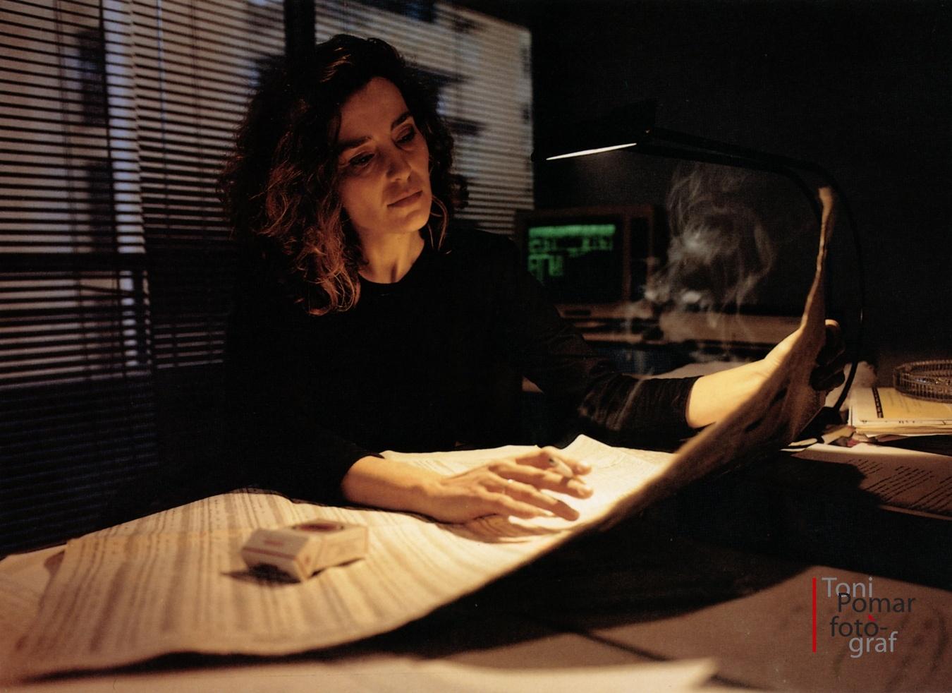 Ara, la dona de Wall Street es limita a la lectura... - Eivissa as New York - Eivissa as New York