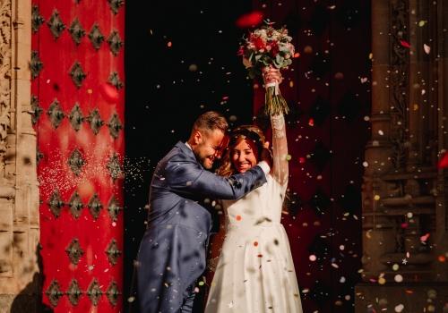 Marta y Javier. Castillo del Buen Amor