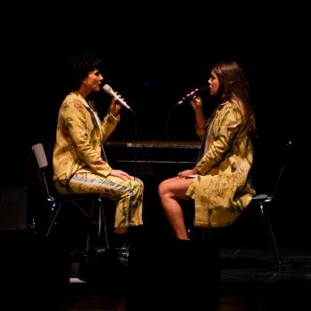 Paula Grande i Anna Ferrer (Teatre CVonservatori - Manresa) 17/10/2020