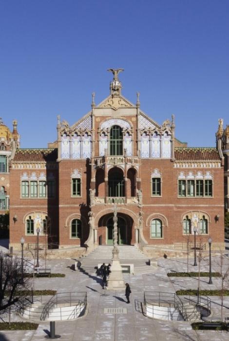 Hospital de Sant Pau - Lluís Domènech i Montaner (Barcelona)
