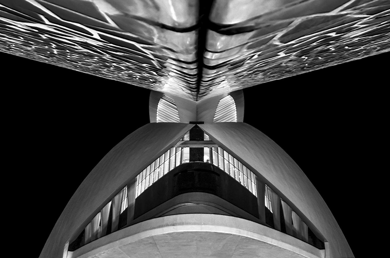 Palau Reina Sofia / Valencia (E) - Arquitecturas - Urbano Suárez,  FineArt Photography