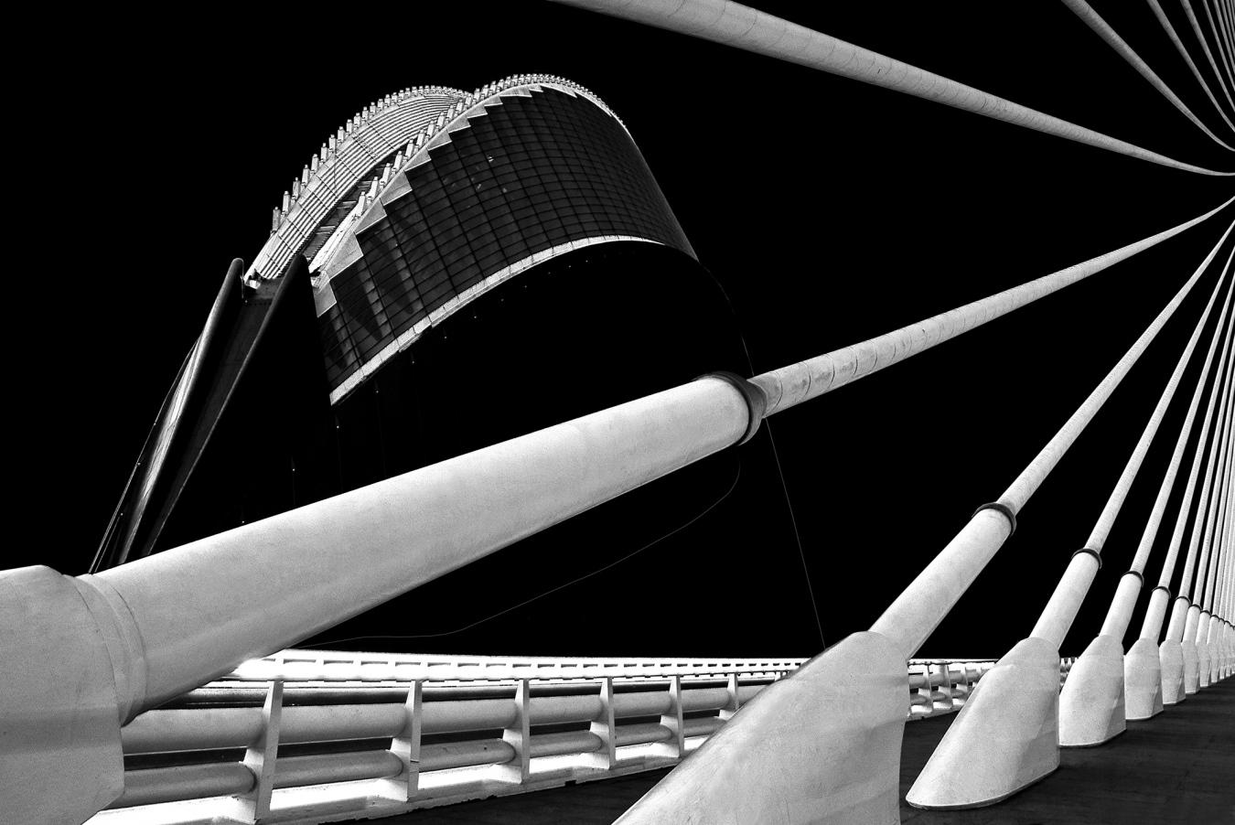 Ágora-Pont l'Assut l'Or / Valencia (E) - Arquitecturas - Urbano Suárez,  FineArt Photography