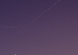 Volando sobre la luna creciente