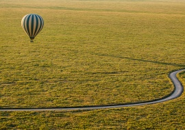 Ballon at the Serengeti National Park, Tanzania