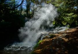Vapores termales, Kerosene Creek, Wai-O-Tapu