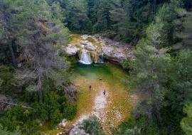Toll del Vidre. Arnes. Els Ports. Tarragona