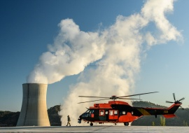 Emergency drill at Ascó Nuclear Power Plant