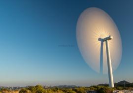 Continuous wind turbine