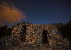 Barraca de pedra seca. Mont-roig del Camp