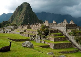 Plaza principal. Machu Picchu