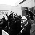 Fotografía manifestación Teka