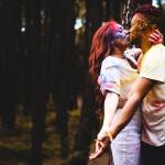 Beso de novios