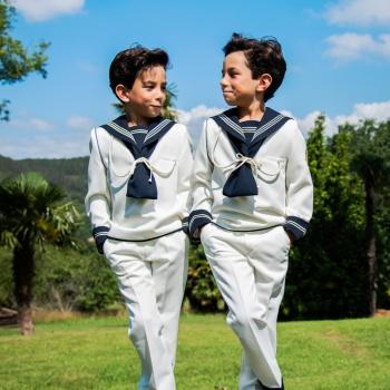 Reportaje de comunión gemelos