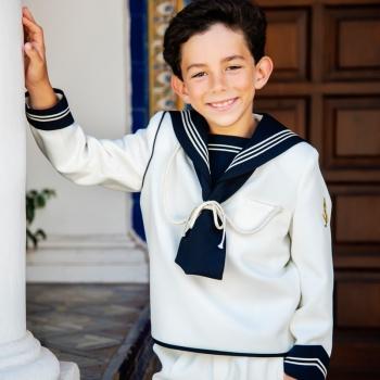 Reportaje de primera comunión marinero