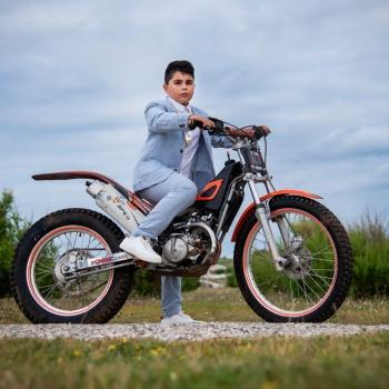 Reportaje de primera comunión motocros